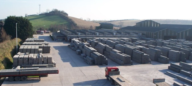 Stock Yard - Concrete Flooring