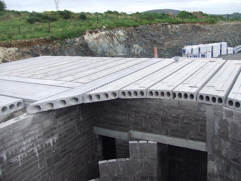 Reinforced Concrete Slab : Reinforced hollowcore flooring concrete floors