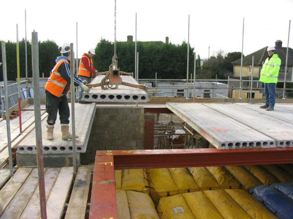 Precast Concrete Planks : Prestressed concrete flooring precast floors