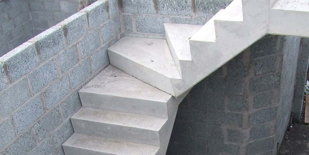 Concrete Stairs 166 Precast Stair Units 166 Concrete Landing Slab