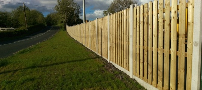 Concrete Fencing Concrete Fence Garden Fence Post