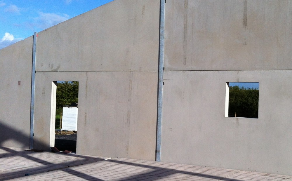 Styrofoam Wall Panels : Insulated wall panels concrete panel