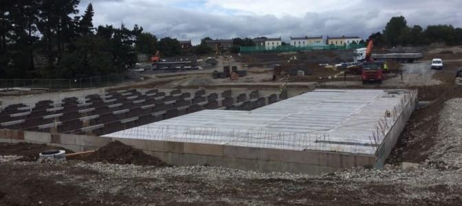 Concrete Attenuation Tank 180 000 Gallon Spanwright